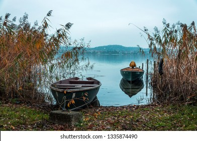 Boats on Lake Constance