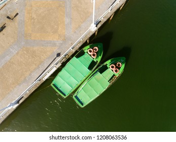 Boats in Portugalete, Bizkaia, Basque Country, Spain