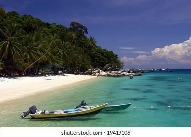 Boats at the seashore