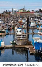 Boats in Sitka Alaska