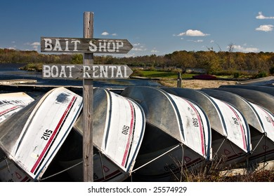 boats tied down for the season's end