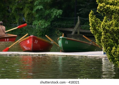 Boats waiting