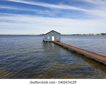 The Boatshed. Iconic landmark on the Swan River. Perth. W.A.