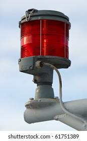 boat/ship red navigation light