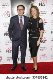 "Bob Costas and Jill Sutton at the AFI FEST 2015 Centerpiece Gala Premiere Of Columbia Pictures' ""Concussion"" held at the TCL Chinese Theatre in Hollywood, USA on November 10, 2015."
