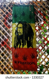 Bob Marley flag