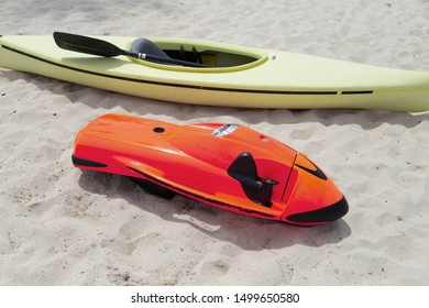 bob on the beach. The World's Fastest Underwater Scooter