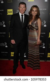 Bobby Flay and Giada De Laurentiis at the 39th Annual Daytime Emmy Awards, Beverly Hilton, Beverly Hills, CA 06-23-12