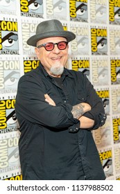 Bobcat Goldthwait attends truTV's Bobcat Goldthwait's Misfits & Monsters at Comic Con 2018, San Diego, California on July 19, 2018