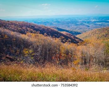 Boblett's Gap Overlook - Blue Ridge Parkway