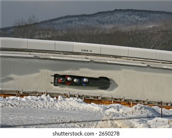 Bobsled on Track