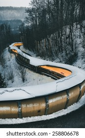 Bobsleigh, luge, and skeleton track