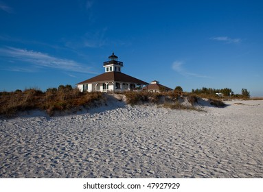 Boca Grand lighthouse and beach