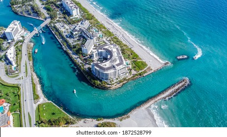 Boca Raton Beach in Sunny South Florida