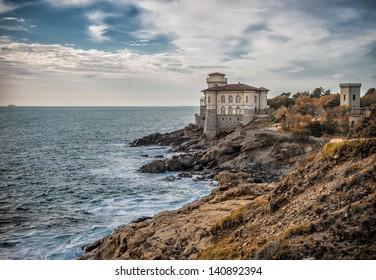 Boccale castle in Livorno (tuscany coast)