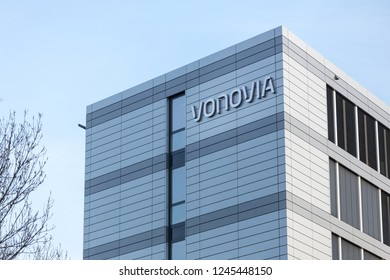 bochum, North Rhine-Westphalia/germany - 21 11 18: vonovia headquarter building in bochum germany