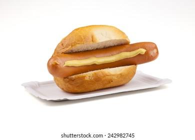 Bockwurst; Br���¶tchen;  Senf; Br���¼hwurst; Wiener; Bratwurst; Roster; Rostbratwurst; braten; grillen - german food