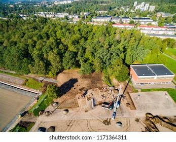 Boda school in the town of Boras august 2018 - Shutterstock ID 1171364311