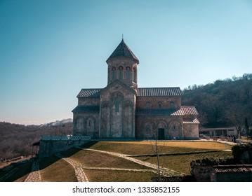 Bodbe monastery. Alazany Valley. Kakheti.Georgia