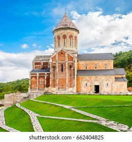 Bodbe Monastery (Monastery of St. Nino) at Bodbe is a Georgian Orthodox monastic complex and the seat of the Bishops of Bodbe near Sighnaghi in Kakheti, Georgia.