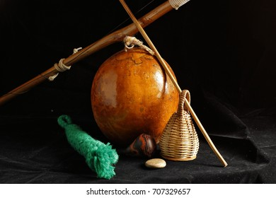 Bodegon of a berimbau