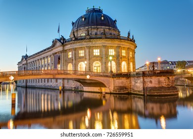 The Bode-Museum at the Museum Island in Berlin at dawn