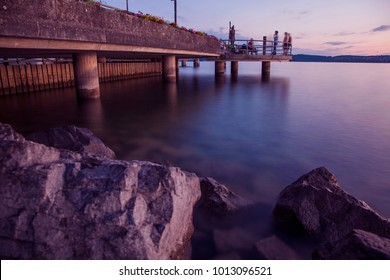 Bodensee at blue hour