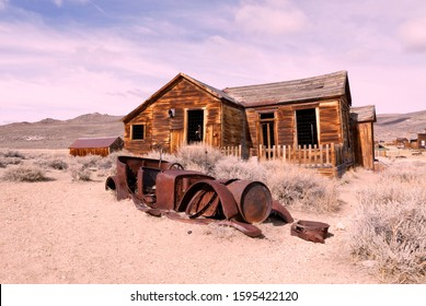 Bodie California State Park . Abandoned  Mining town