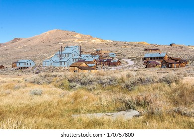 Bodie Ghost Town mining relics