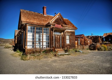 Bodie - ghost town - Old House