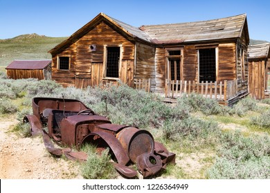 Bodie historical ghost town Bodie is now an authentic Wild West ghost town. A total of 170 buildings remained. Last occupied in 1914.