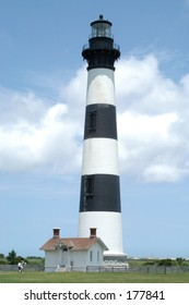 Bodie Island lighthouse on the outer banks, nc