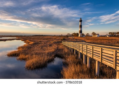 Bodie Island Lighthouse, Outer Banks, North Carolina, dawn