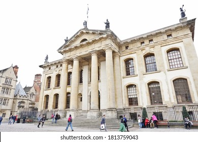 The Bodleian Library is the main research library of the University of Oxford, England on 01/08/2019. and is one of the oldest libraries.