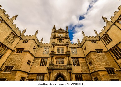 Bodleian library,  Oxford, United Kingdom.