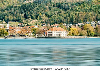 Bodman-Ludwigshafen at lake constance, Germany