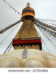 Bodnath stupa in Nepal, Katmandu