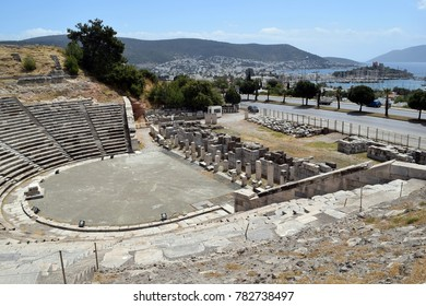 Bodrum antique theatre