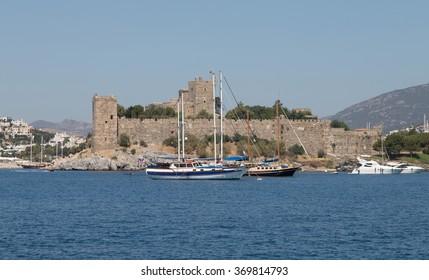 Bodrum Castle in Aegean Coast of Turkey
