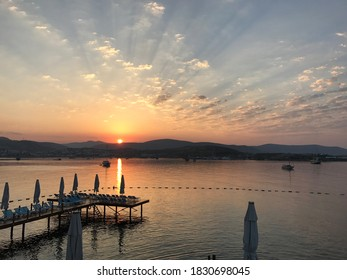 Bodrum with the spectacular sunset and crystal clear Aegean Sea