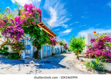 Bodrum street view in Turkey