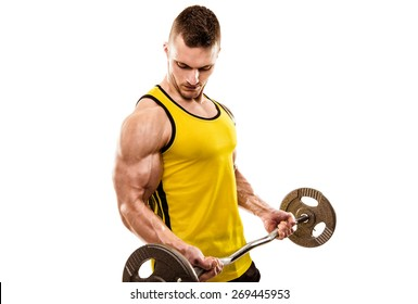 Barbell Curl Images, Stock Photos & Vectors | Shutterstock
