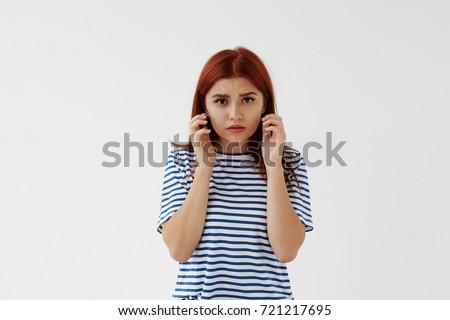 Anxious body language