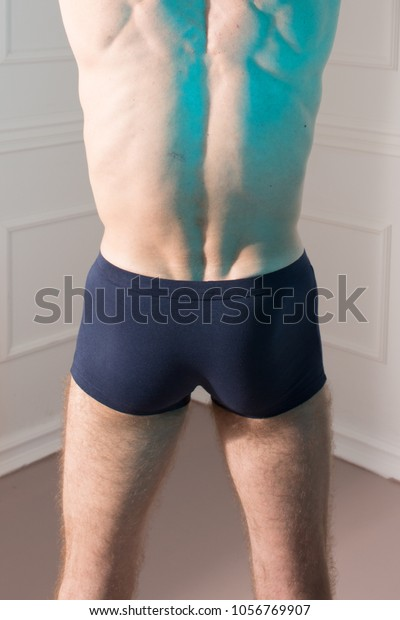 Tight male ass