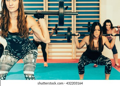 Body pump - fitness training with weights