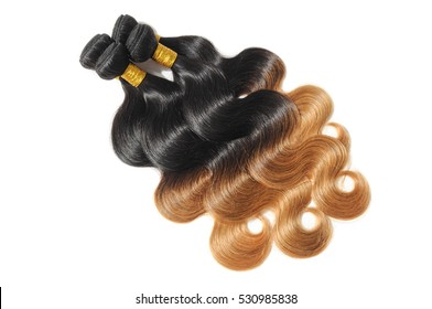 body wave black to strawberry blonde ombre dip dye human hair weave bundles extensions