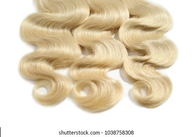 Body wave blonde human hair weaves extensions bundles