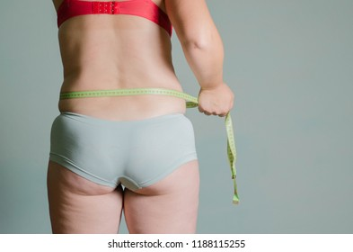 body of a woman and meter