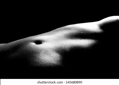 Bodyscape Image of a Nude Woman