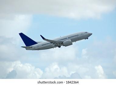 Boeing 737 modern jet liner